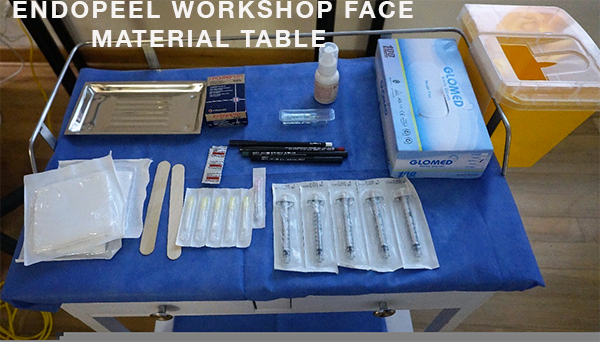 endopeel face material workshop